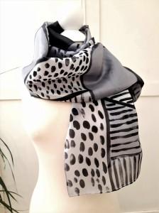 Fular de seda Colección étnica